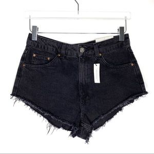 Topshop | Kiri High Waisted Super Short